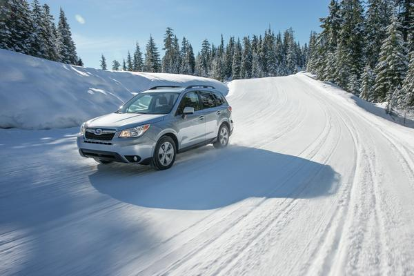 2016 Subaru Forester Features Symmetrical All Wheel Drive, which in harsh weather conditions, provides additional traction.
