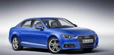 2017 Audi A4 Euro-Spec Right Front Three Quarters