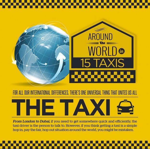 Around the World in 15 Taxis