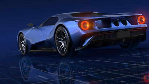 Ford GT 3D