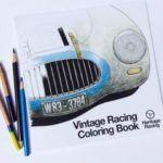 Hertiage Racing Coloring Book