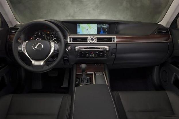 Lexus GS350 F Sport cabin