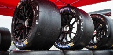 Michelin NISMO Racing Tires 370x180 - Tire Dynamics of the Nissan GT-R LM NISMO