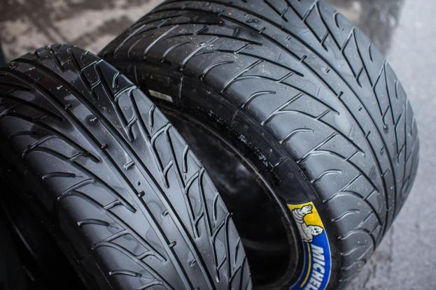 Michelin NISMO Racing Tires Test Run