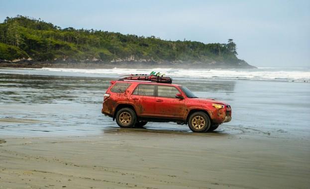 Toyota 4 Runner Beach