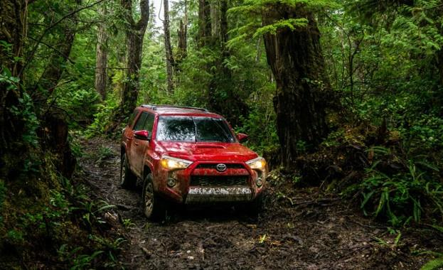 Toyota 4 Runner Off Road