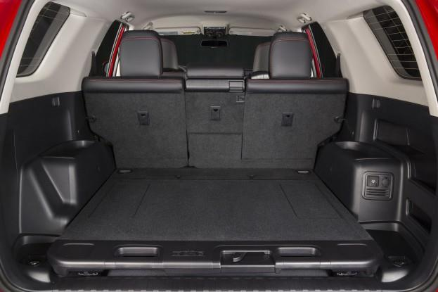 Toyota 4Runner Rear Cargo Area