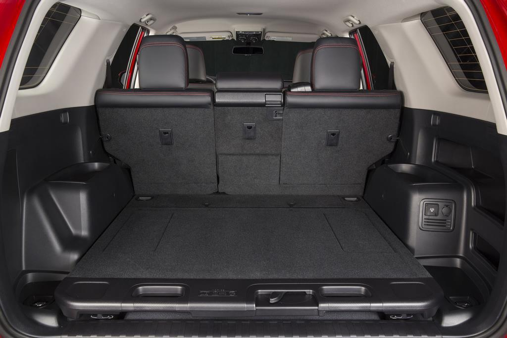 Toyota 4runner Rear Cargo Area Photo On Automoblog Net