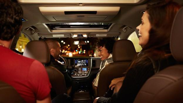 2015 toyota sienna limited premium interior