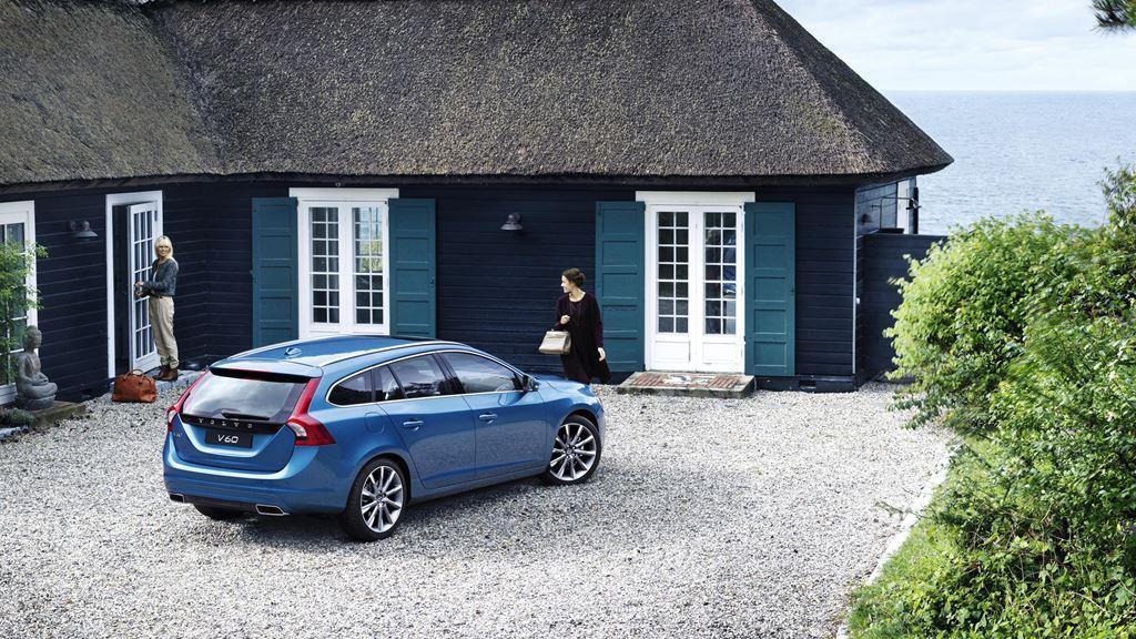 Volvo V60 Passenger Side Areial