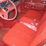 1984 Chevy Caprice Classic Interior 2