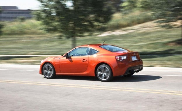 2015 Scion FR-S Left Rear Three Quarters
