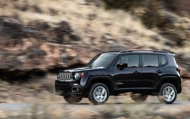 2015 Jeep Renegade Highway Cruising