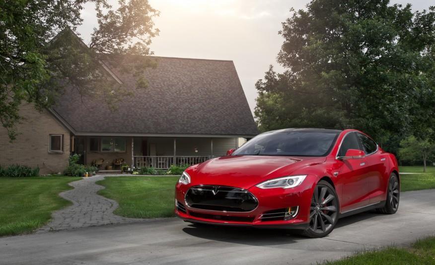 Tesla Model S P90D >> First Look 2016 Tesla Model S P90d