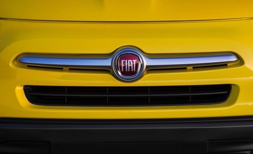 2016 Fiat 500X Grille