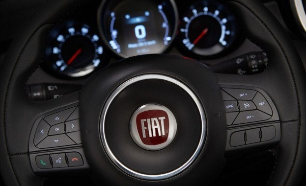 2016 Fiat 500X Steering Wheel Badge