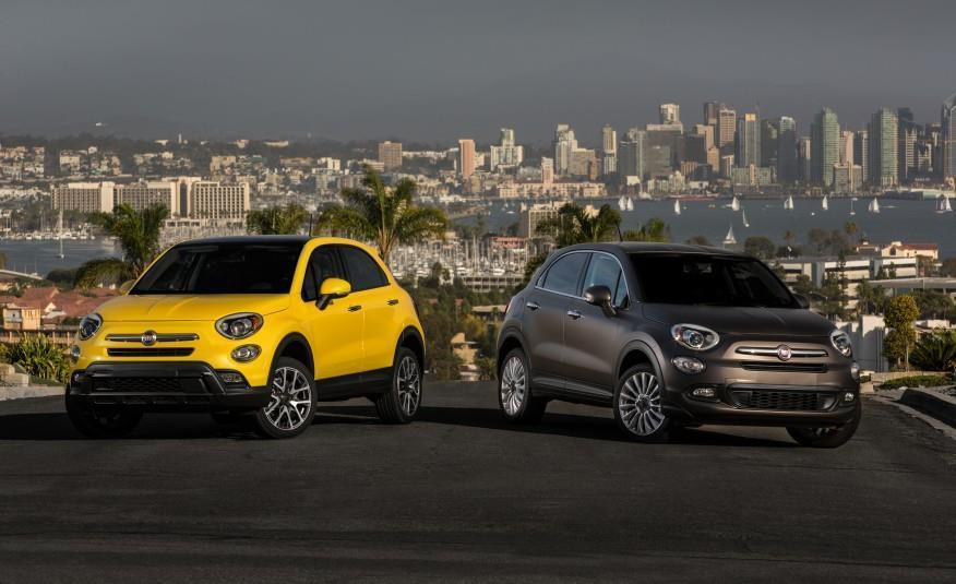 2016 Fiat 500X Trekking Plus and Lounge