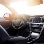 2016 Hyundai Sonata Hybrid interior pano