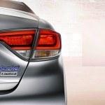 2016 Hyundai Sonata Hybrid tail lamp