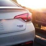 2016 Hyundao Sonota Hybrid rear