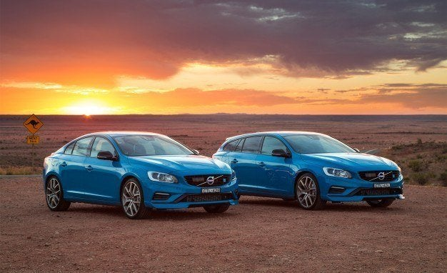 First Look: 2016 Volvo V60 and S60 Polestar 15