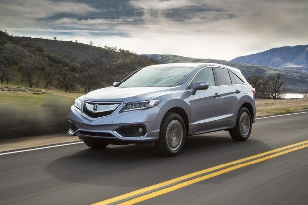 2016 Acura RDX driving