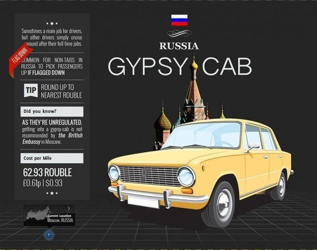 Russia Taxi