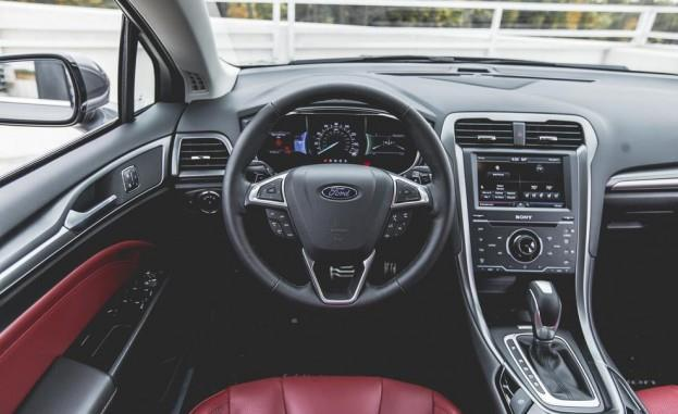 2015 Ford Fusion Titanium AWD Steering Wheel