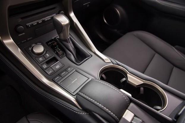 2015 Lexus NX300h cabin