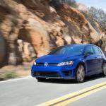 2015 VW Golf R driving