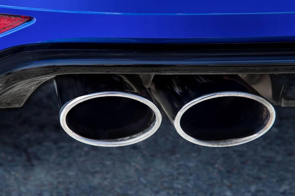 2015 VW Golf R exhaust tip