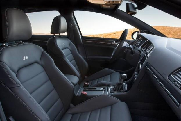 2015 VW Golf R interior