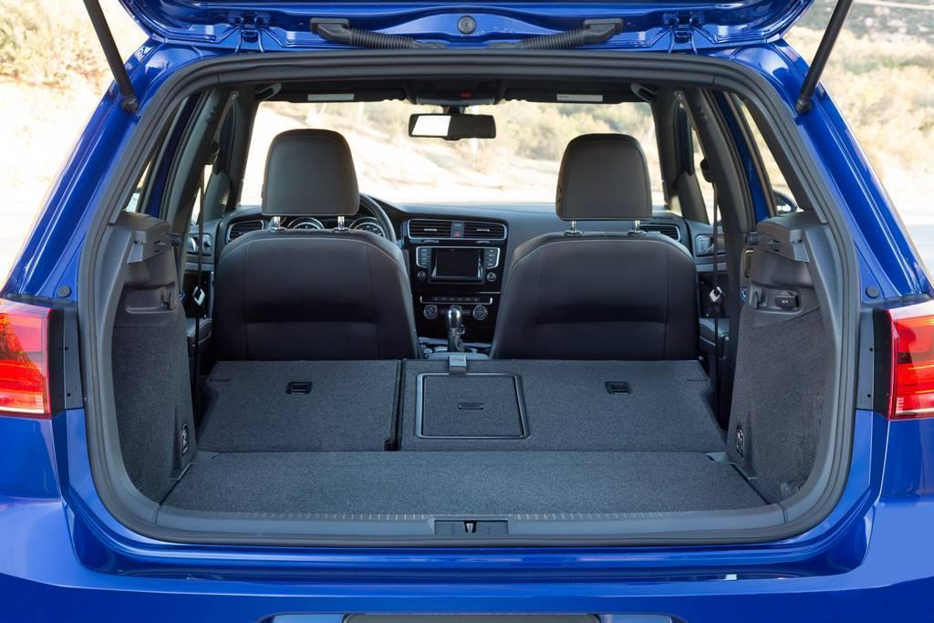 2015 VW Golf R rear hatch