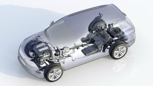 2015 VW Touareg Sketch