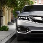 2016 Acura RDX front headlight