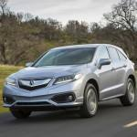 2016 Acura RDX on road