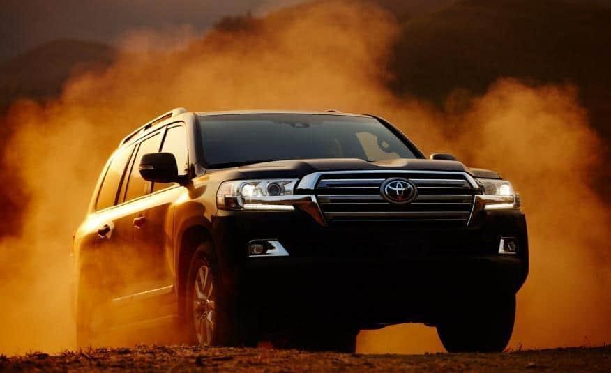 2016 Toyota Land Cruiser Off-Road 3