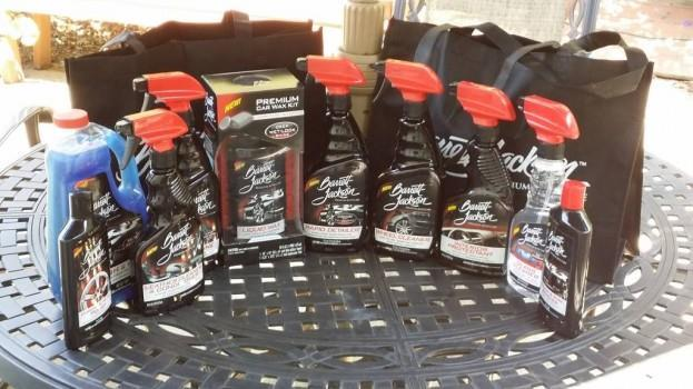 Barrett Jackson Premium Car Care Kit