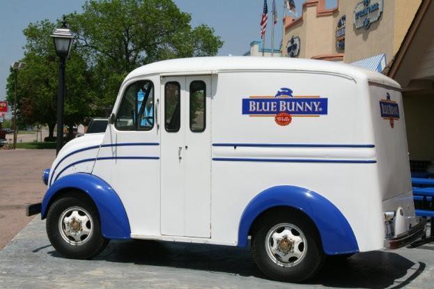 Blue Bunny Delivery Van