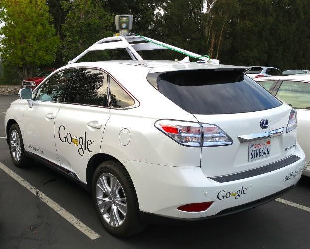 Google's Lexus Self-Driving Car