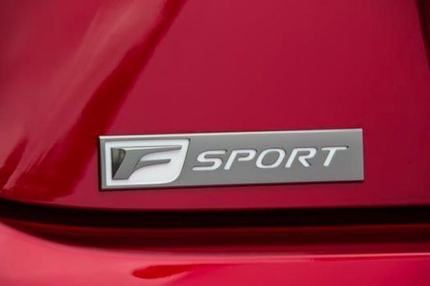 Lexus RC350 FSport badge