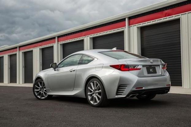 Lexus RC350 FSport rear