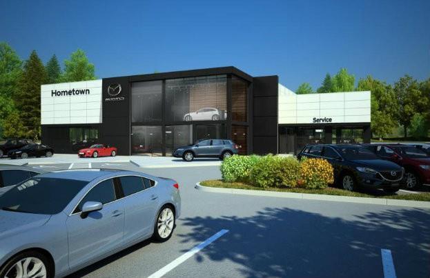 Mazda Retail Evolution Exterior