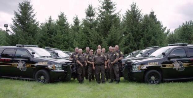 Police Tahoe Group Photo