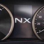 2015 Lexus NX 300h gauges