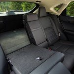 2015 Lexus NX 300h rear seats