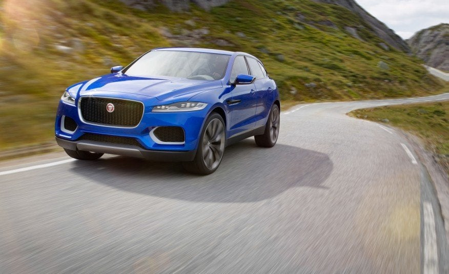 First Look Jaguar F Pace