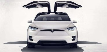 Tesla Model X falcon wings 370x180 - Here it is Folks - the Tesla Model X!