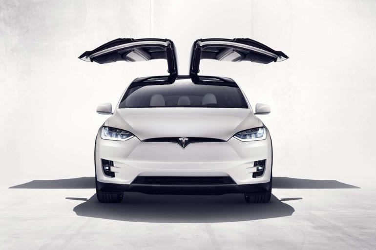 Here it is Folks - the Tesla Model X! 19