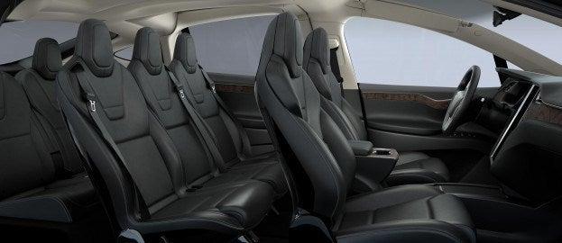Tesla Model X interior seating
